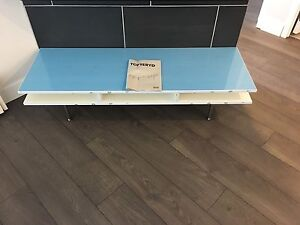 IKEA tofteryd tv bench (gloss white)