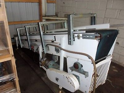 Nercon Incline Belt Conveyor 12 Inches X 123 Inches