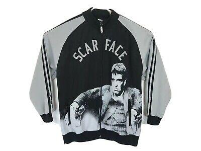 Rare scarface Full Zip jacket scarface clothing co Size 2xl EUC