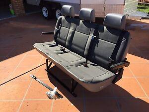 Techsafe 3 Seater Bench Bus Van Rear Seat Windaroo Logan Area Preview