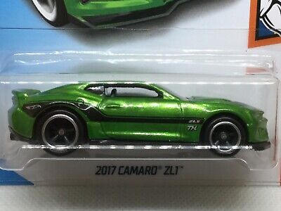 Hot Wheels 2018 Super Treasure Hunt 2017 Camaro ZL1..  Real riders.