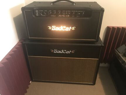 Bat Cat 30R guitar amp. With matching  2x12 cabinet.