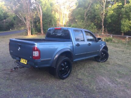 2004 holden rodeo duel cab ute 2wd 3.5L v6 (swap/trade)