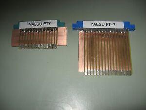 Yaesu FT-7 Transceiver Extender Board Pair Riser in KIT FORM