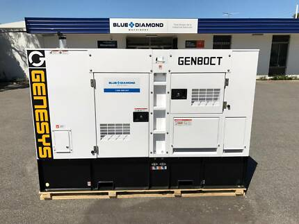 80 KVA Cummins Diesel Generator 415V W/ Stanford Alternator