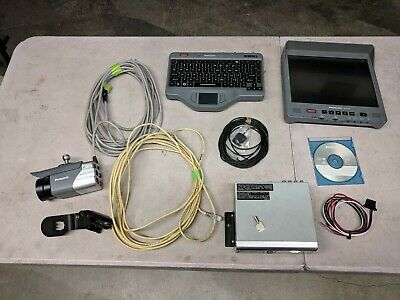 Panasonic Toughbook Arbitrator Police Car Video Camera System With Software.