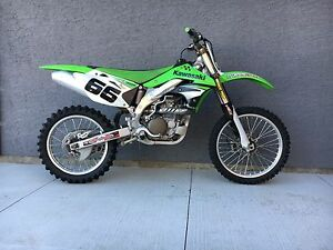 2007 KX450F and Spare Fenders