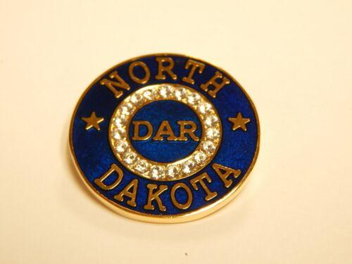 RETIRED NORTH DAKOTA DAR STATE MEMBERSHIP PIN - LAST ONE!