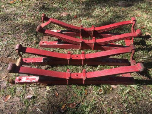 Heavy Duty Wagon Bolster Springs set of 2