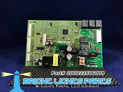Ge Main Control Board For Ge Refrigerator 200D2260g008 Green