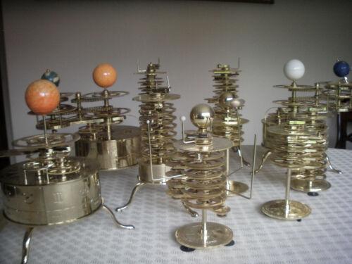 Earth Moon & Sun Orbiter or Build a Model Solar System Orrery Spares/Kits/Units
