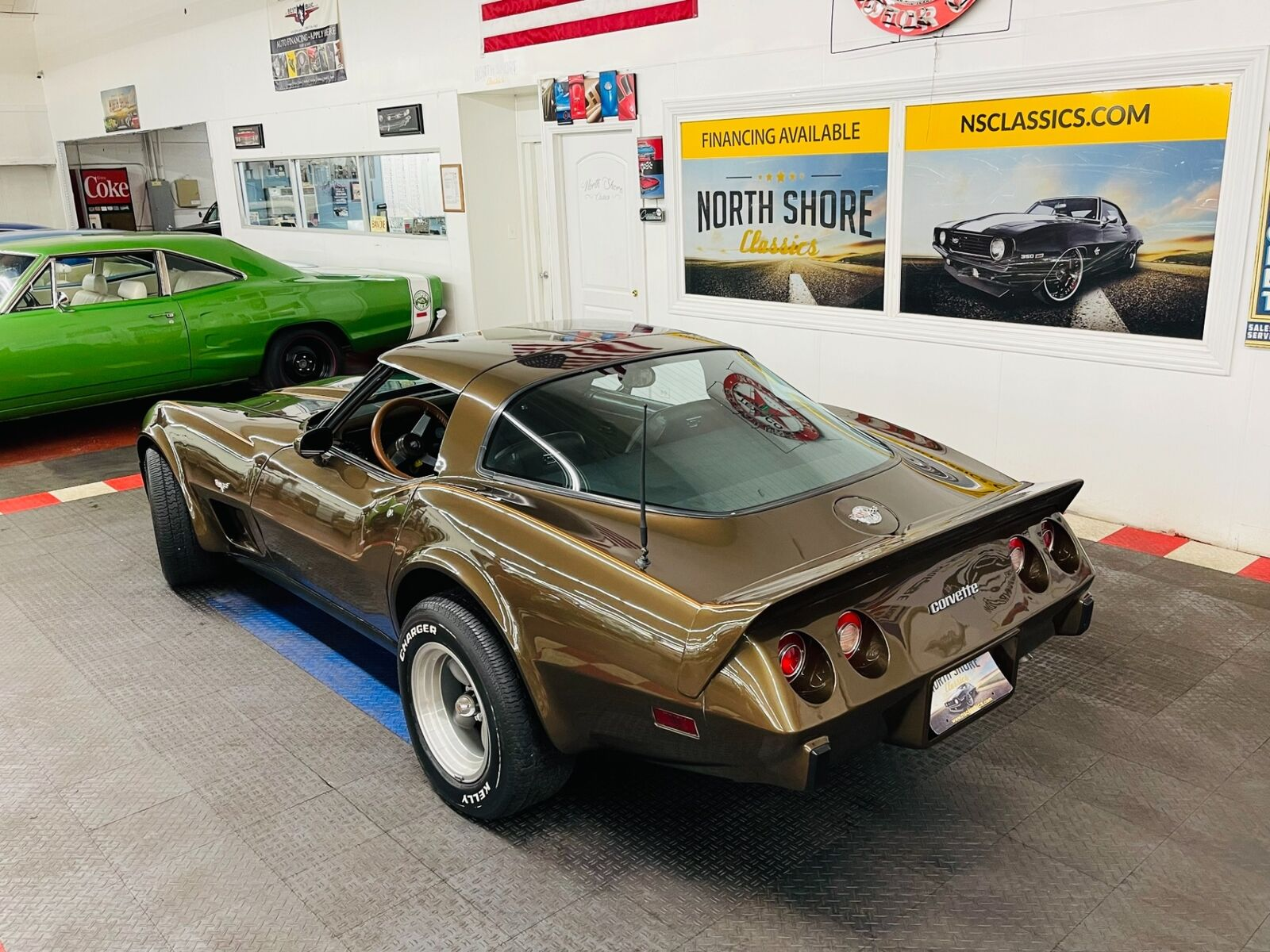 1978 Brown Chevrolet Corvette   | C3 Corvette Photo 3