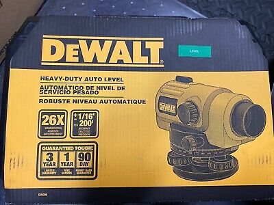 Dewalt Dw096 13 In. 26x Auto Optical Level Heavy Duty