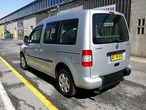 08 Volkswagen Caddy Les Brazier Freewheeler Wheelchair Conversion Marion Marion Area Preview