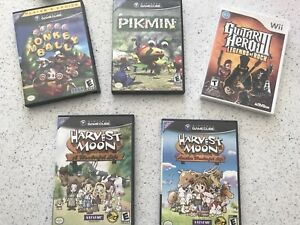 GameCube and wii games in picture for sale  ($20 EACH!!!)
