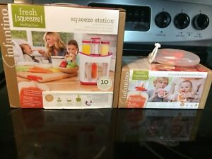 Squeeze Station- Baby Food Maker and Accessories
