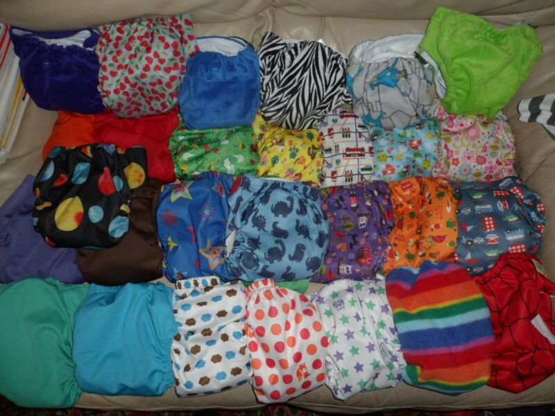 Nappies! (not all are pockets)