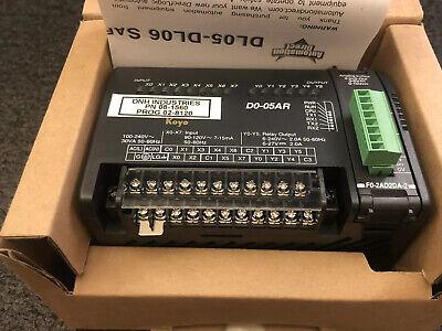 Direct Logic 05 Koyo D0-05ar New Dl05 Plc Module F0-2ad2da-2 Automation Japan