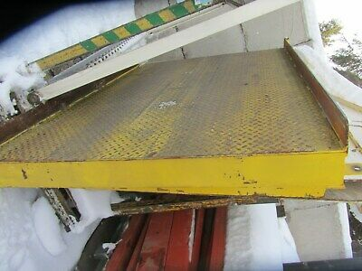 Steel Ramps Dock Loadingunloading 4 W X 6 L With Approximately 4-14 Rise