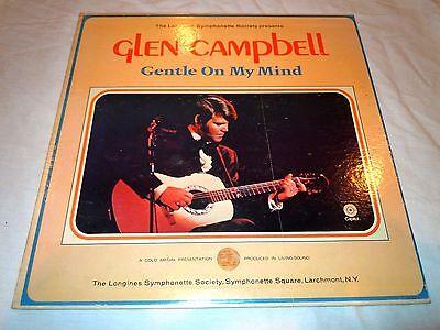 GLEN CAMPBELL~Gentle On My Mind~Record Album~Original~1967