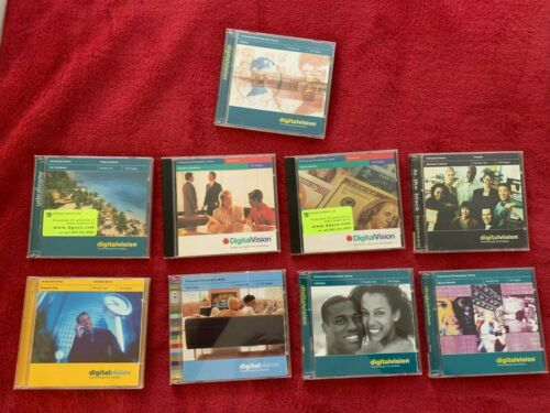 Stock Photos Photography Royalty Free Images - Digital Vision Lot of 9 CDROM