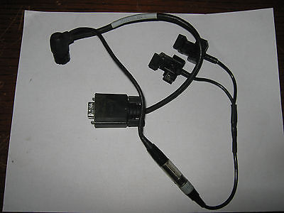 1 Pc Trimble Pro Data Cable Dual Battery Clip 30231-00 Rev. 5 Used