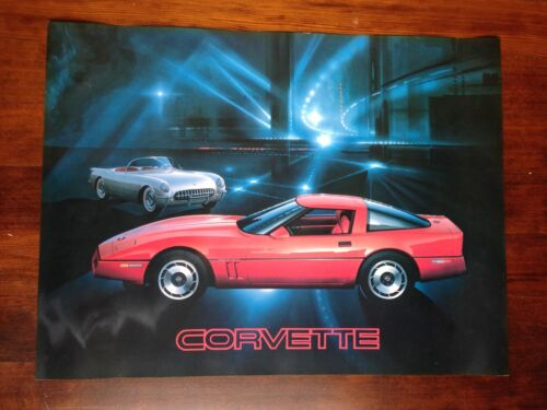 Unframed Photographic print 1953- 1983 Corvette Art Poster Series 1983