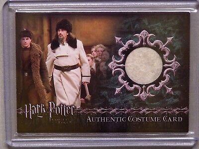 Harry Potter-GOF-Movie-AUTHENTIC-Costume Card-Predrag Bjelac-Igor Karkaroff-C9