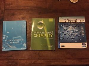Textbook: environmental chemistry, a global perspective  Third edition Sunrise Beach Noosa Area Preview