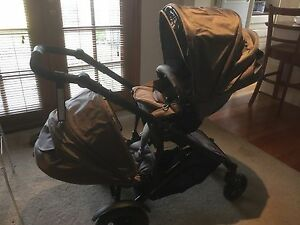 Strider compact pram with second seat Bairnsdale East Gippsland Preview