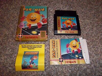 Nintendo NES Pac-Man Tengen CIB Complete