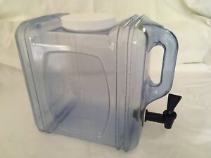 Water Container/Dispenser 7.5 L/2Gal BPA Free - $10