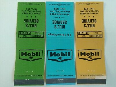 Used, Bill's Service Mobil Gas Station Lot Canyon City OR Oregon S & H Green Stamps for sale  Glendale