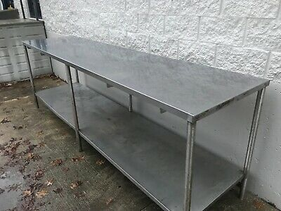 120 Heavy Duty Stainless Steel Work Table Restaurant Bakery...