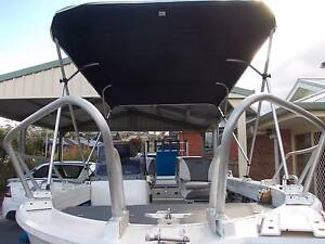 5m QUINTREX HORNET TROPHY SIDE CONSOLE 90hp 4Stroke Mercury Old Beach Brighton Area Preview