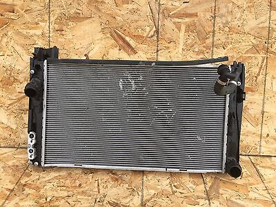 29K! BMW E84 X1 E90 E91 E92 E93 WATER ENGINE RADIATOR WITH THE AC CONDENSER OEM