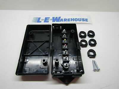 Abs Electrical Junction Box With 7 Color Coded Terminals 5601101