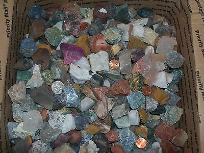 1/4 pound lbs of gemstones. Great for tumbling.
