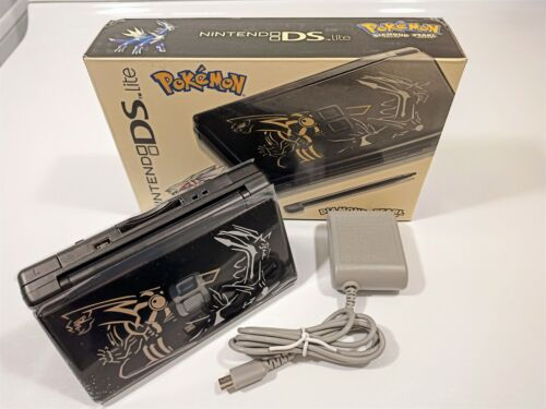 Nintendo DS Lite Handheld Console Pokemon Edition Diamond and Pearl Refurbished.