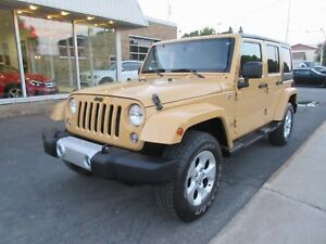 2014 Jeep Wrangler Unlimited Sahara *2 TOITS*