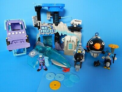 IMAGINEXT DC SUPER FRIENDS LOT MR. FREEZE LAIR PLAYSET FREEZE CHAMBER ICE JET