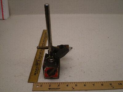Vintage Enco On-off Machinist Magnetic Base Indicator Holder
