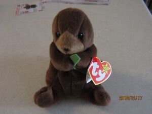 f44a2e21c8c Extremely Rare Ty Beanie Baby Seaweed The Sea Otter Retired - Nine Errors