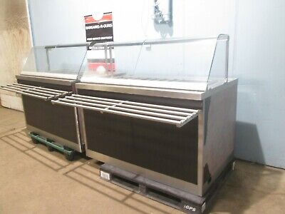 Amfab Spr-60 Hd Commercial Lot Of 2 Remote Refrigeration Sandwich Prep Counter