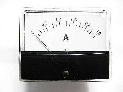 Us Stock 69c6 Dc 0 1.0a Analog Amp Panel Meter High Quality
