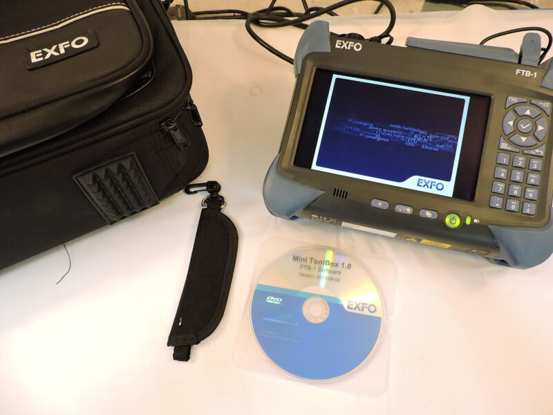 Exfo Ftb-1 Optical Test Platfrom With Ftb-860g Module