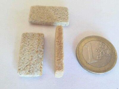 bloxxs Steine M-ATYP echter Sandstein für Modellbau Ministeine bauen verkleiden