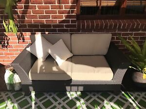 3 Piece Outdoor Lounge - GREAT CONDITION - CLEAN CUSHIONS Kellyville The Hills District Preview