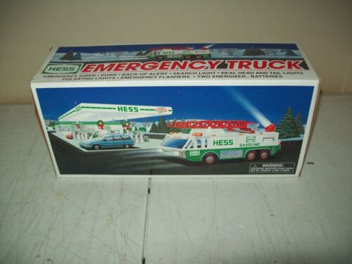 1996 Hess Emergency toy Truck brand new in the box factory condition