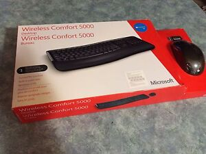 Wireless Microsoft Keyboard and Mouse